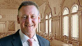 Thomas Jung (SPD) ist Oberbürgermeister von Fürth.