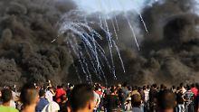 Drei Tote in Gaza: Israel beschießt Demonstranten