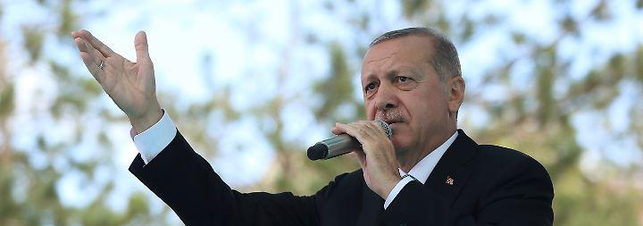 Drohung Richtung Trump: Erdogan wettert gegen US-Strafzölle