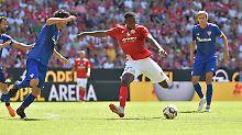 Kam für acht Millionen Euro von Olympique Lyon: Jean-Philippe Mateta.