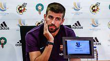 Nie mehr für Spanien ins Stadion: Gerard Piqué zieht das Nationaltrikot aus