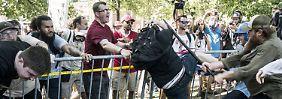 Bei den Protesten in Charlottesville im vergangenen Jahr war es zu massiven Gewaltausschreitungen gekommen.