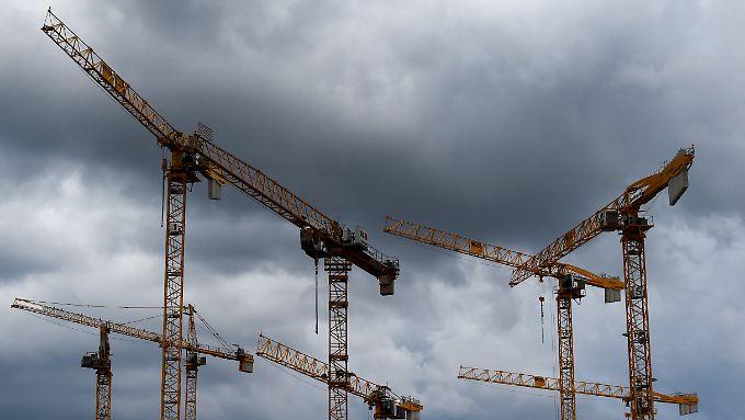 Eine Baustelle in Berlin. In der Hauptstadt werden Wohnungen besonders dringend gebraucht.