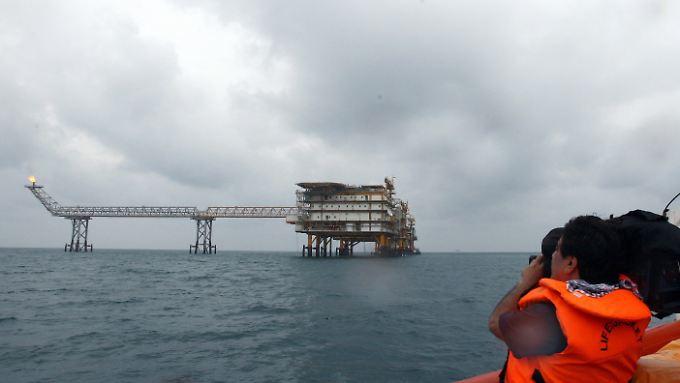 Aufgrund der US-Sanktionen zog der französische Total-Konzern seine Investition aus dem iranischen Ölfeld South Pars zurück. China sprang bereitwillig ein.