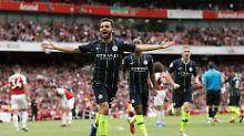 Özil-Pleite bei Emery-Debüt: Man City weist FC Arsenal in die Schranken