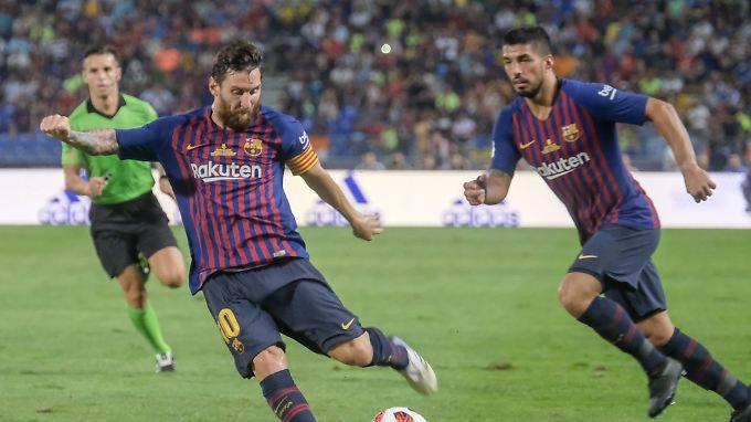 Messi und Barcelona holen den nächsten Titel.