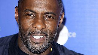 Promi-News des Tages: Idris Elba heizt mit Tweet James-Bond-Gerüchte an