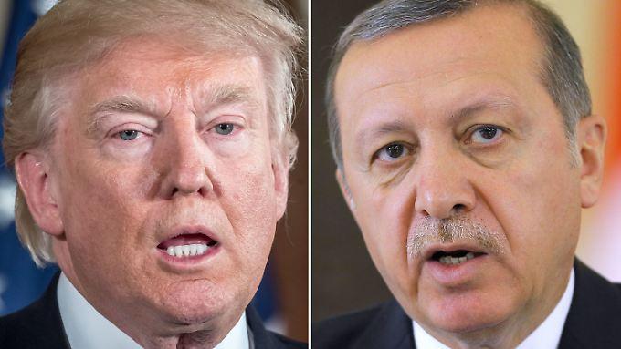 Ängste schüren, Feindbilder aufbauen: Trump und Erdogan teilen viele Gemeinsamkeiten