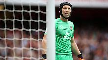 Verstehen Sie Spaß?: Bayer-Tweet verärgert Arsenal-Keeper Cech