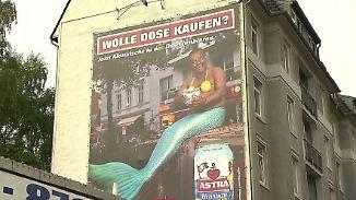 """""""Wolle Dose kaufen?"""": Astra stoppt Werbung nach Rassismus-Vorwurf"""