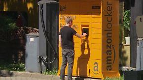 """Angriff auf klassische Paketdienste: Amazon verdoppelt Zahl eigener """"Locker""""-Abholstationen"""