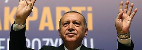 Recep Tayyip Erdogan lässt den Konflikt mit den USA eskalieren.