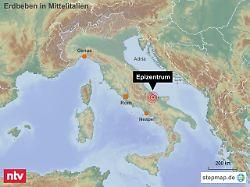 In 19 Kilometer Tiefe: Beben erschüttert Italiens Adriaküste