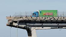 """Fahrer überlebt Brückeneinsturz: """"Ich bin voll auf die Bremse gestiegen"""""""