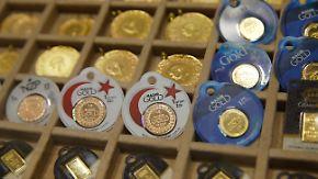 Private Verluste nach Erdogan-Aufruf: Türken tauschen Goldbesitz in verfallende Lira um