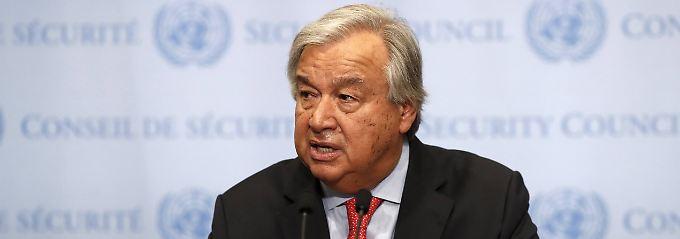 """Guterres stellt Bericht vor: UNO plant """"robuste Präsenz"""" in Gaza"""