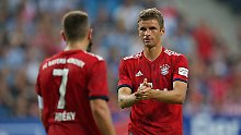 Thomas Müller und seine Bayern wollen den DFB-Pokal zurückerobern. Da ist der Ausflug nach Drochtersen nur ein Zwischenschritt.