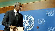 Reaktionen auf Kofi Annans Tod: Die Welt hat einen ihrer Giganten verloren