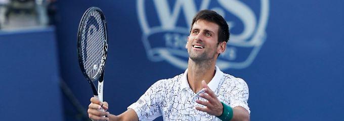 24. Sieg über Federer: Djokovic triumphiert erstmals in Cincinnati
