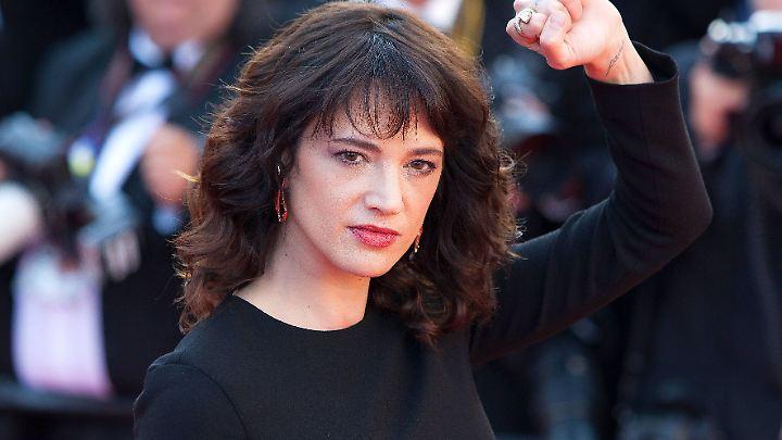 Zahlte Asia Argento Schweigegeld für sexuellen Übergriff?