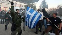 Nach dem Ende der Finanzhilfen dürfte in Griechenland der Widerstand gegen die Sparpolitik wachsen.