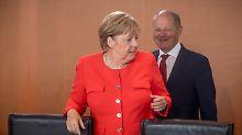 Stabile Renten bis 2040?: Merkel zurückhaltend bei Scholz-Vorstoß