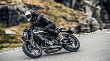 Mit der Vitpilen hat Husqvana ein Motorrad geschaffen, dass es in dieser Form nicht auf dem Markt gibt.