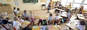 Unterricht in einer Rostocker Grundschule.