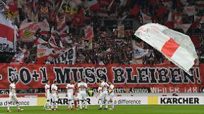 Fußball-Bundesliga droht das Mittelmaß: 50+1-Regel schreckt Großinvestoren ab