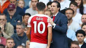 """Arsenal-Coach Emery über Özils Fehlen: """"Ich weiß nicht, wer Ihnen das erzählt hat"""""""
