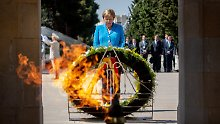 Merkel im schwierigen Kaukasus: Ohne Russland bewegt sich hier nichts