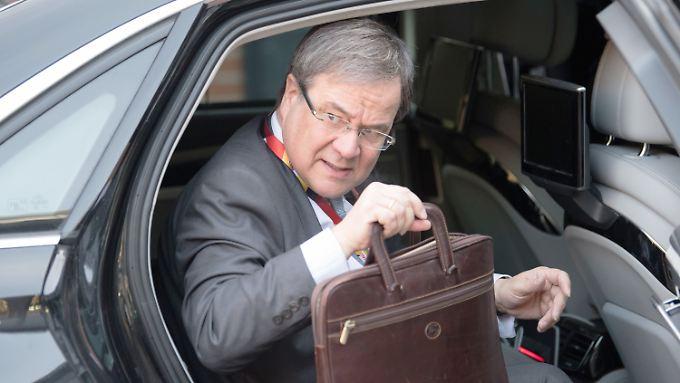 Landeschef im bevölkerungsreichsten und wirtschaftsstärksten Bundesland: Armin Laschet.