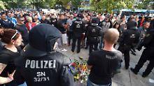 Proteste nach Messerstecherei: Was über die Chemnitzer Vorfälle bekannt ist