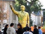 """""""Sicherheit nicht gewährleistet"""": Erdogan-Statue in Wiesbaden abgebaut"""