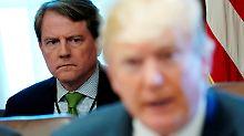 Rechtsberater McGahn geht: Trump verliert seinen nächsten Vertrauten