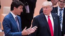 """Trudeau glaubt an """"guten Deal"""": Nafta-Einigung bis Freitag möglich"""