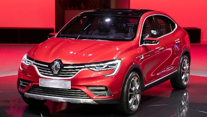 Russischer Automarkt im Aufwind: Renault Arkana feiert Premiere in Moskau