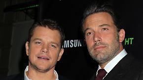 Promi-News des Tages: Lässt Matt Damon Ben Affleck im Stich?