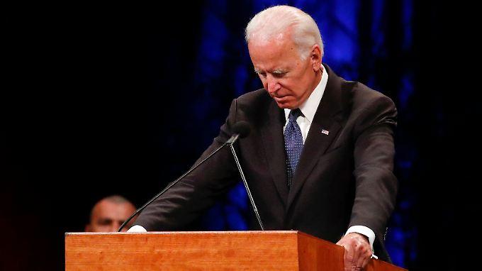 Der Demokrat Biden hat mit John McCain einen republikanischen Freund verloren.