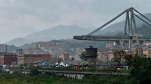 Güterverkehr auf die Schiene?: Genua-Unglück heizt die Verkehrsdebatte an