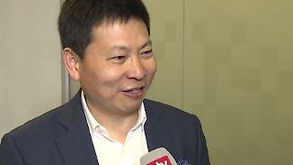 """Huawei-Chef Yu im n-tv Interview: """"In zwei, drei Jahren können wir die Nummer eins sein"""""""