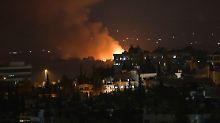 Syrisches Militär: Kein Angriff: Explosionen erschüttern Militärflugplatz