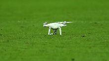Der Sport-Tag: Drohne stürzt bei russischem Ligaspiel aufs Feld