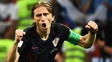 Luka Modric könnte die Messi-Ronaldo-Serie bei der Fifa-Wahl durchbrechen.