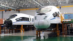 Konkurrenz aus Fernost: Bahn-Industrie schlägt Alarm