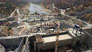 Vor zwanzig Jahren entsteht mit dem Alqueva-Stausee der größte künstlich Stausee der Europäischen Union in der Alentejo-Region.