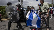 In Nicaragua werden Gegner der linksnationalistischen Regierung von Präsident Ortega offenbar gewaltsam unterdrückt.