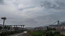 Brückeneinsturz in Genua: Staatsanwalt ermittelt gegen 20 Personen