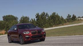 SUV im Coupé-Gewand: BMW schickt den X4 zur Generalüberholung