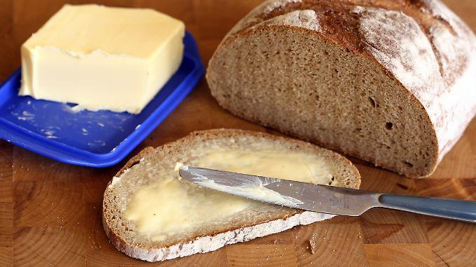 Klimaeffekte im Lebensmittelmarkt: Der Sommer 2018 treibt den Preis für Butter nach oben.